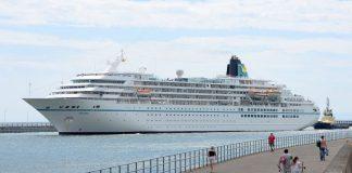 MS Amadea, Big Ship. Swansea