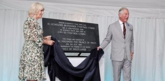 Wales, Prince, Unveiling,