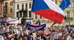 Czech protest